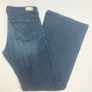 Ag Adriano Goldschmied Jeans - AG Jeans Belle Petite Flare Dark Wash 32R